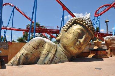 Buddha statue in the Port Aventura