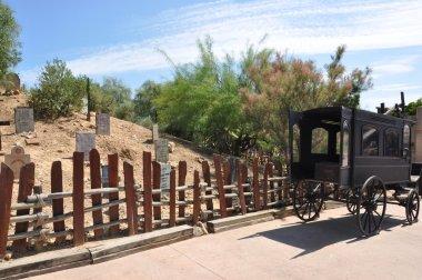 Wild west graveyard