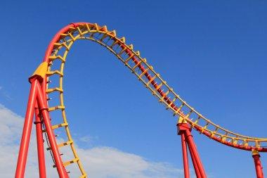 Boomerang, a Roller Coaster ride in Vienna, Austria