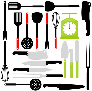 Cooking Utensil, knives, baking equipments