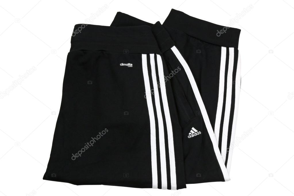 37dce43b Adidas ClimaLite cotton cuffed workout pants for woman– Stock Editorial  Photography