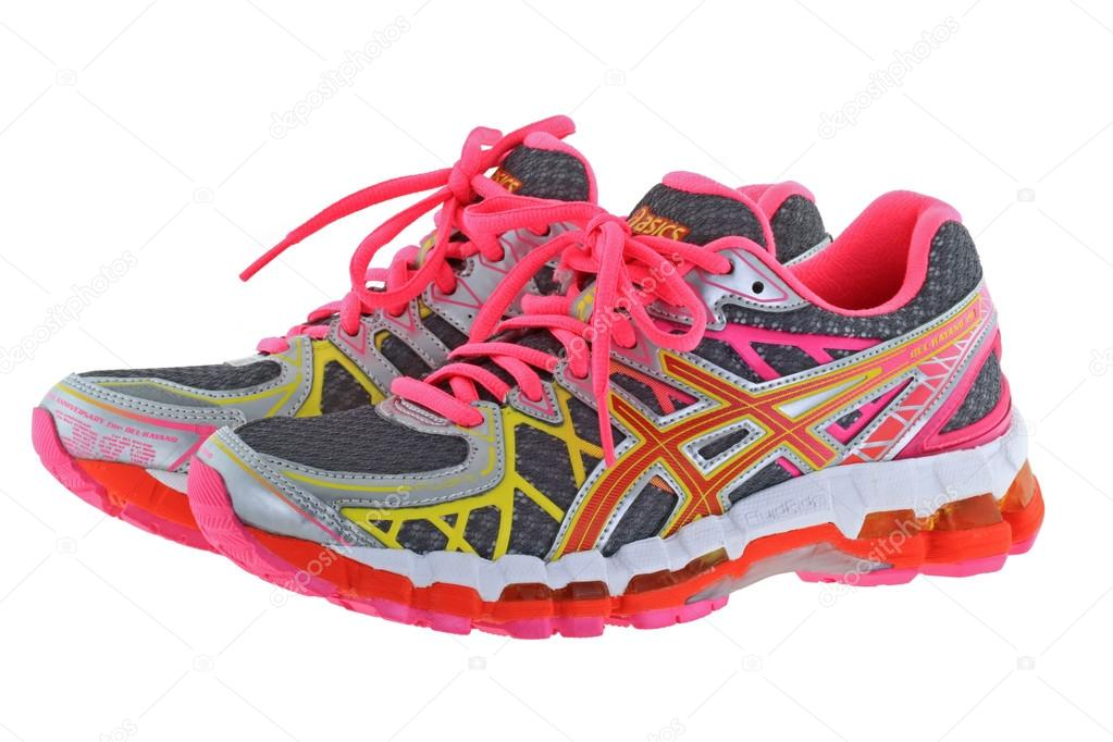 7835fa0750 A pair of ASICS Gel Kayano 20 Running shoes for women– Stock Editorial  Photography