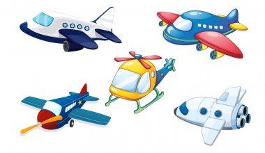 various air planes