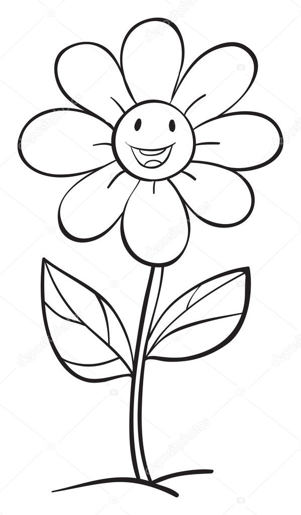 Áˆ Flower Sketch Stock Vectors Royalty Free Flower Sketch Images Download On Depositphotos