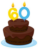 Photo a birthday cake