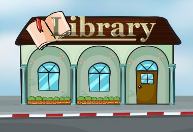A library