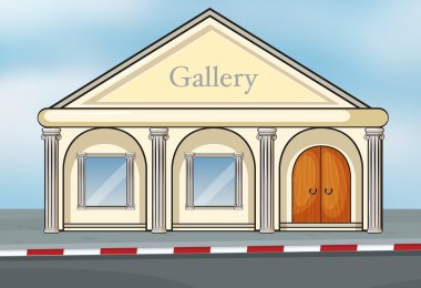A gallery house