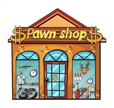A pawnshop