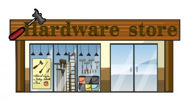 A hardware store