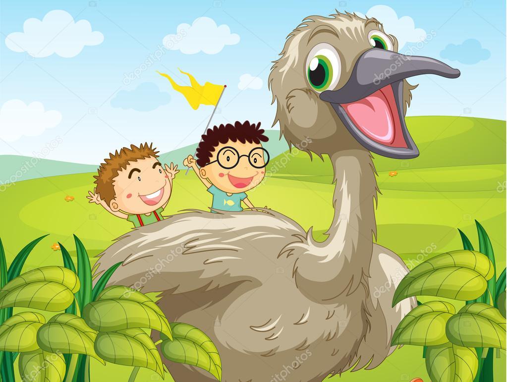 μεγάλο πουλί θηλυκό