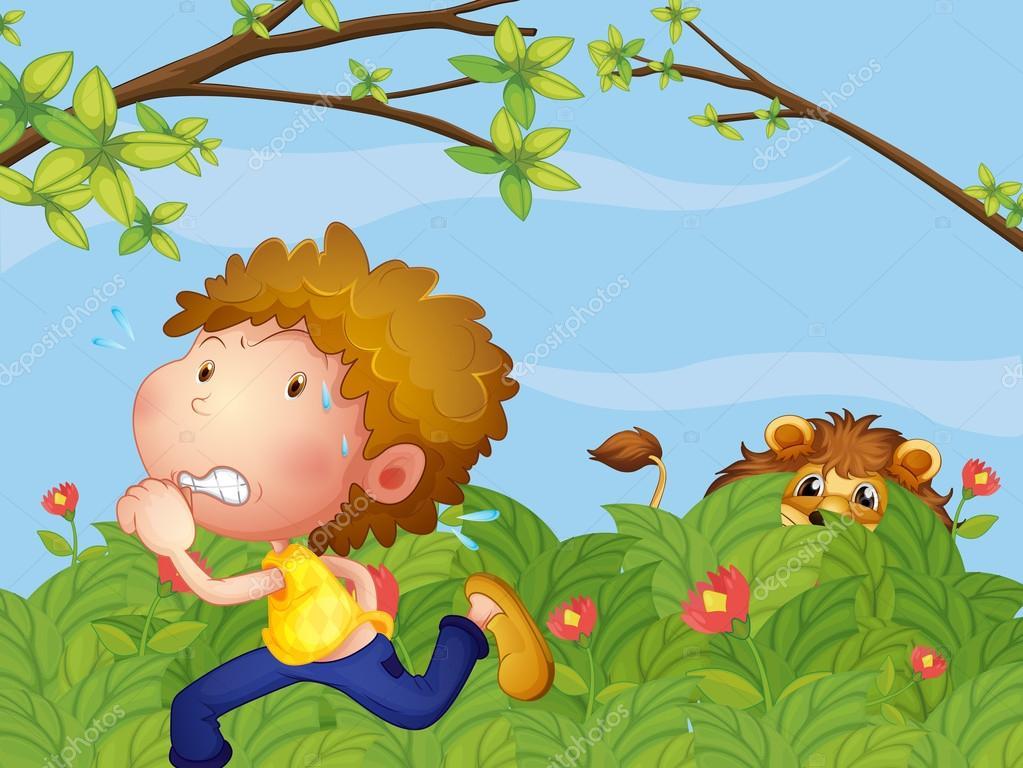 Imágenes: Niño Corriendo Asustado