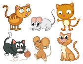 Kočky a myši