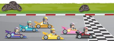 Car racing competition