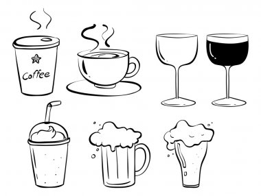 Different kinds of drinks