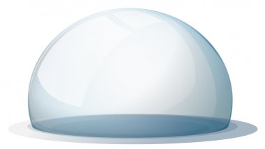 A dome without a holder