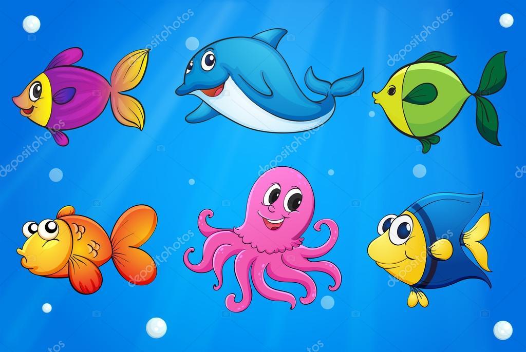 Free Marine Animals Cliparts, Download Free Clip Art, Free Clip Art on  Clipart Library
