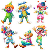 Photo A group of clowns