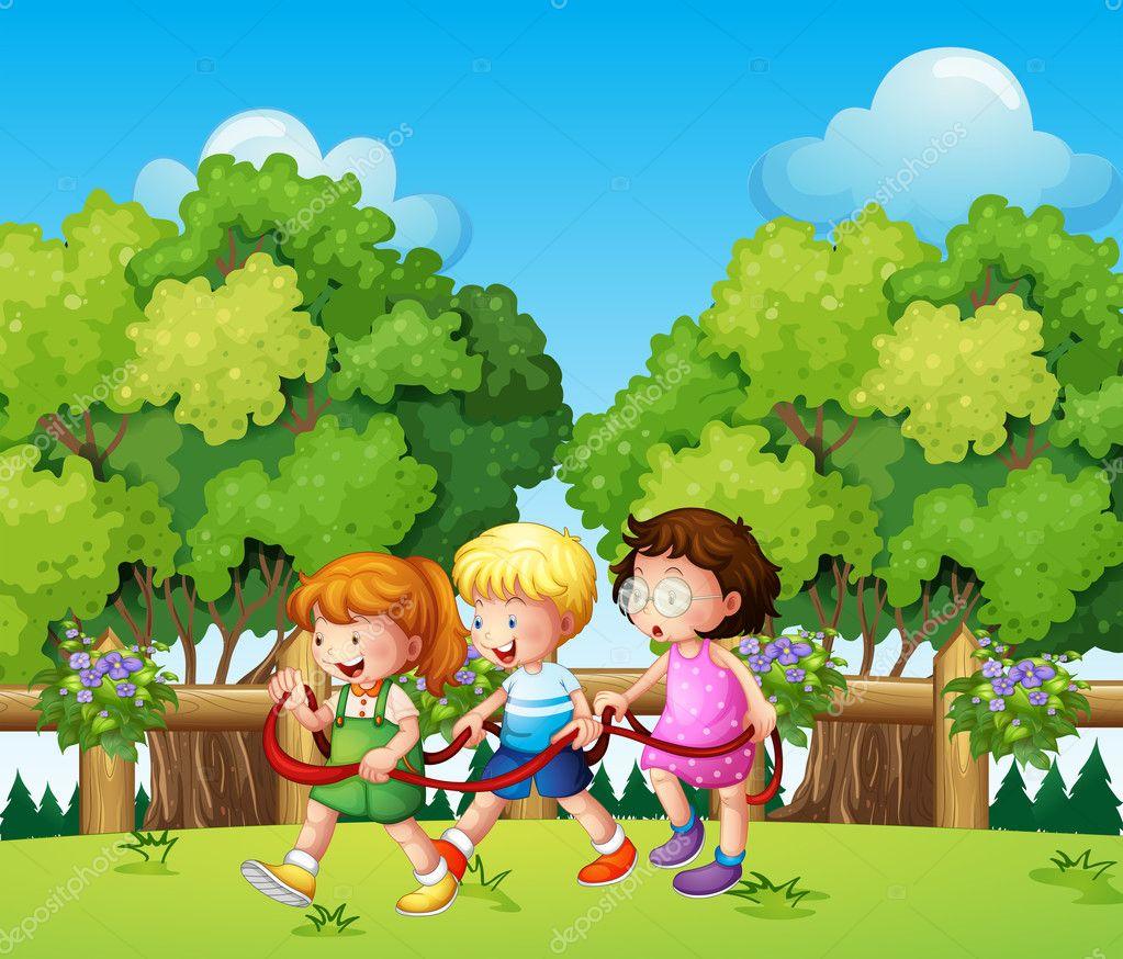Kids playing outdoor during daytime