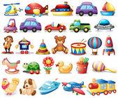 Fotografie kolekce hraček