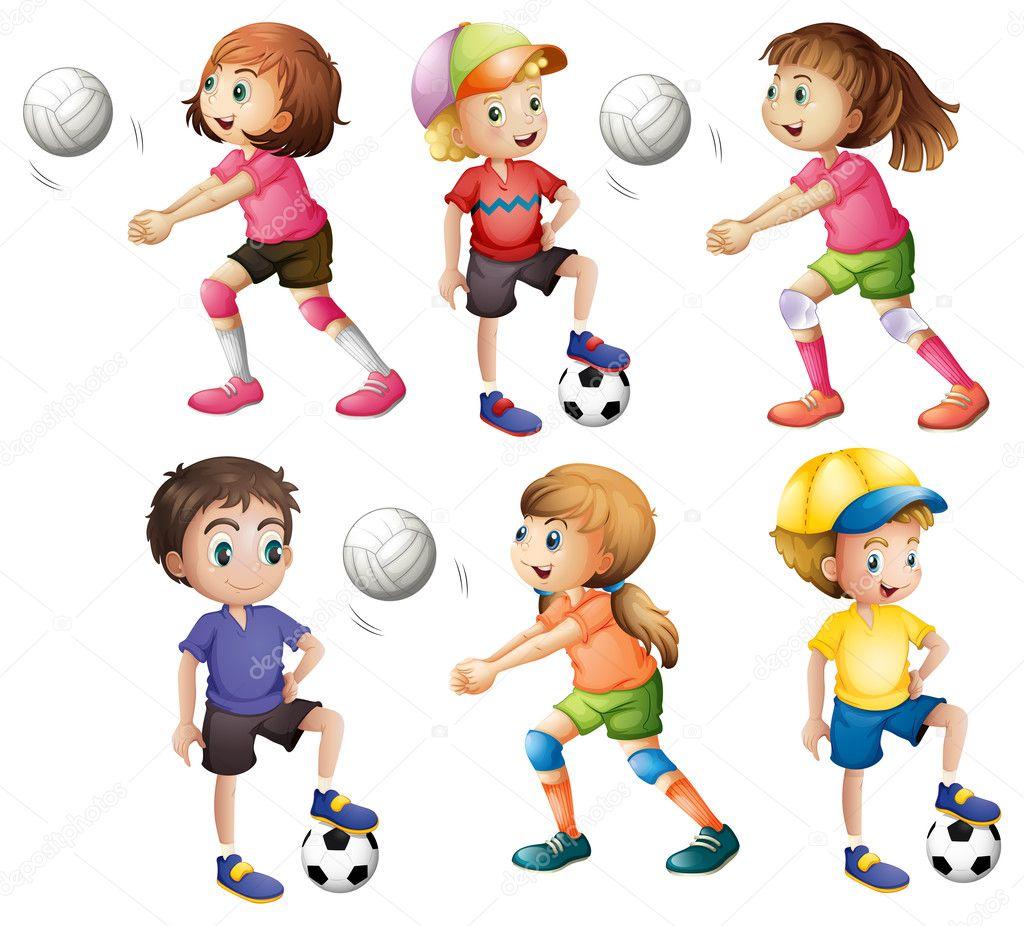 Disegni Bambino Che Gioca A Calcio Disegno Bambini Che Giocano A