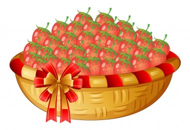 A basket of berries