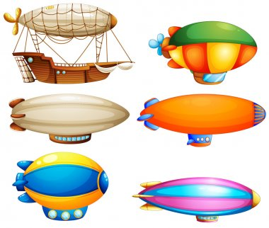 Sets of flying objects