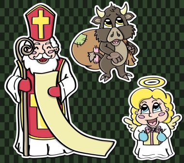 Stickers for St. Nicholas Day