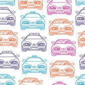 barevné dopravy vzor