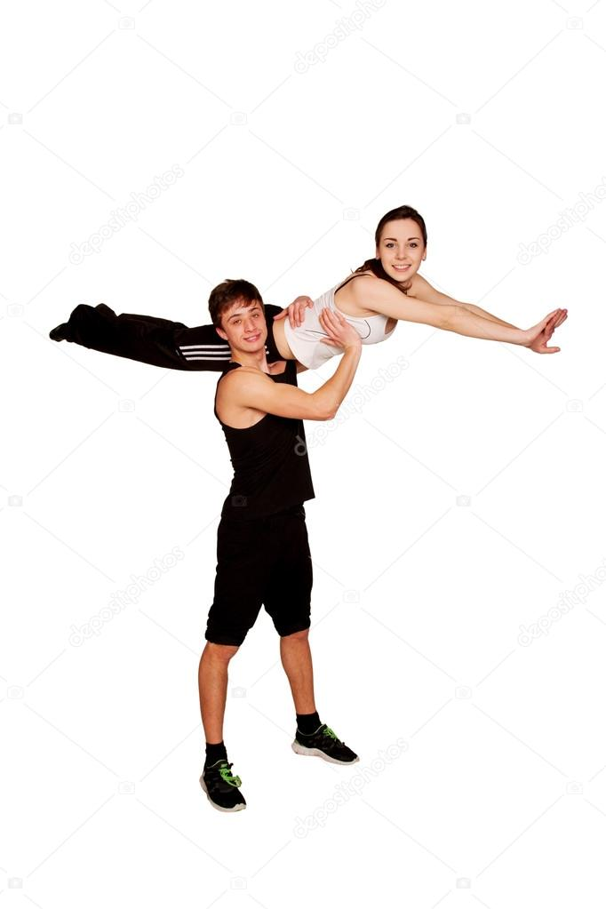 Фото спорт и девушка мальчик скачать фото 769-401