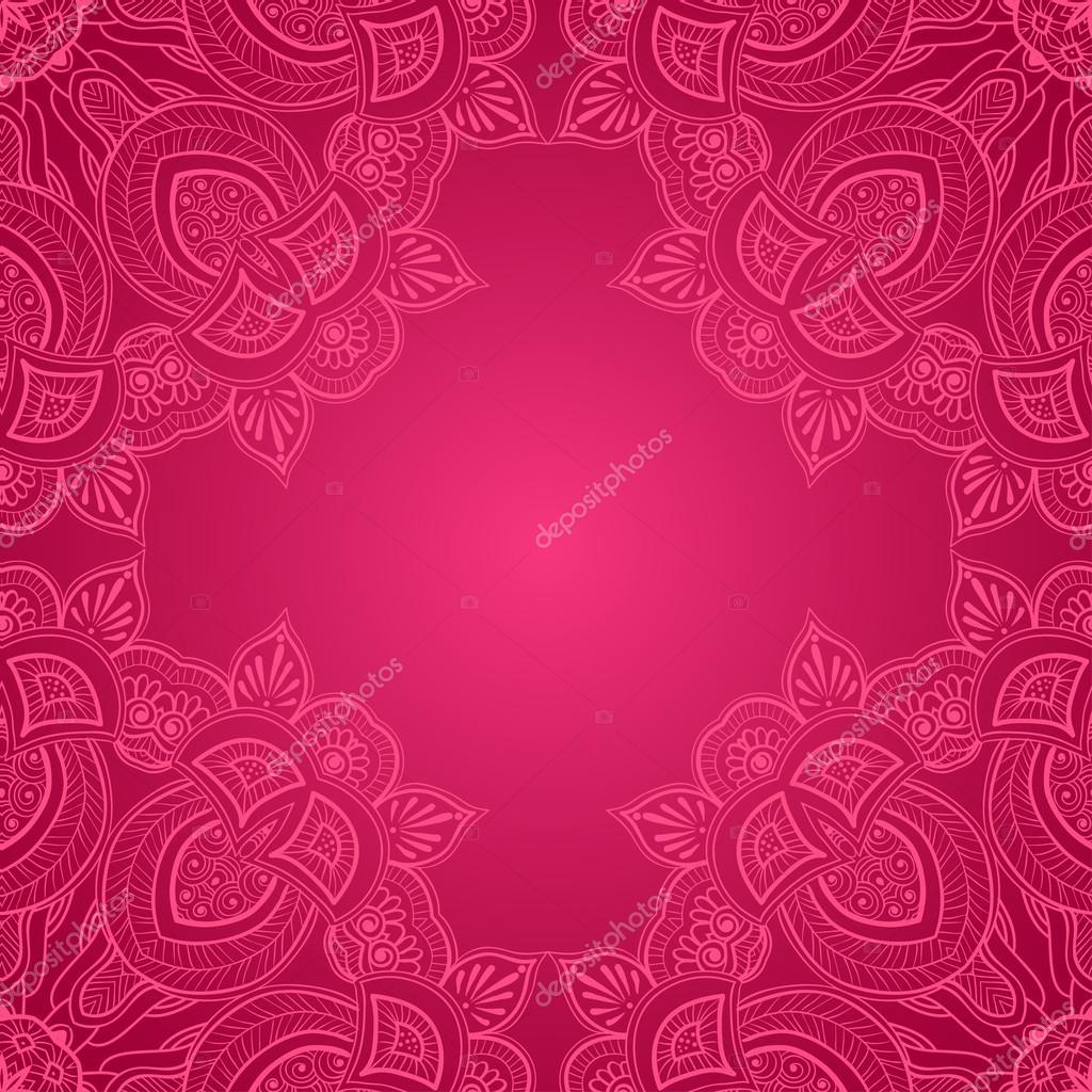 marco de encaje ornamentales esquina — Vector de stock © natalypaint ...