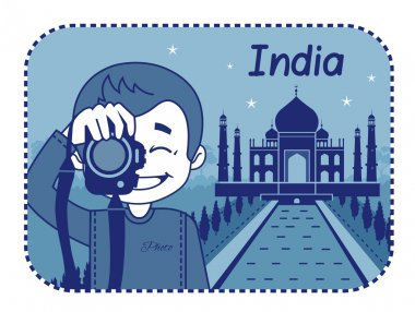 Teaser with photographer travels through India