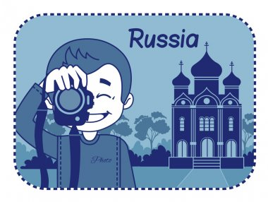 Teaser with photographer travels through Russia