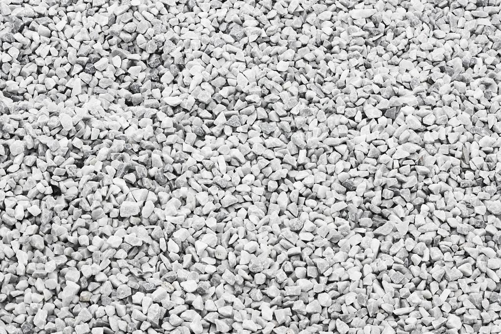 white quartz stone decorative chippings or aggregates