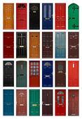Fotografie isolierten Haustüren