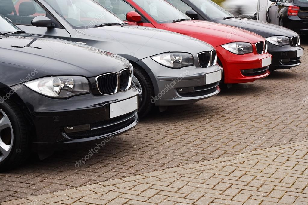line of luxury used cars – Stock Editorial Photo © Stocksolutions ...