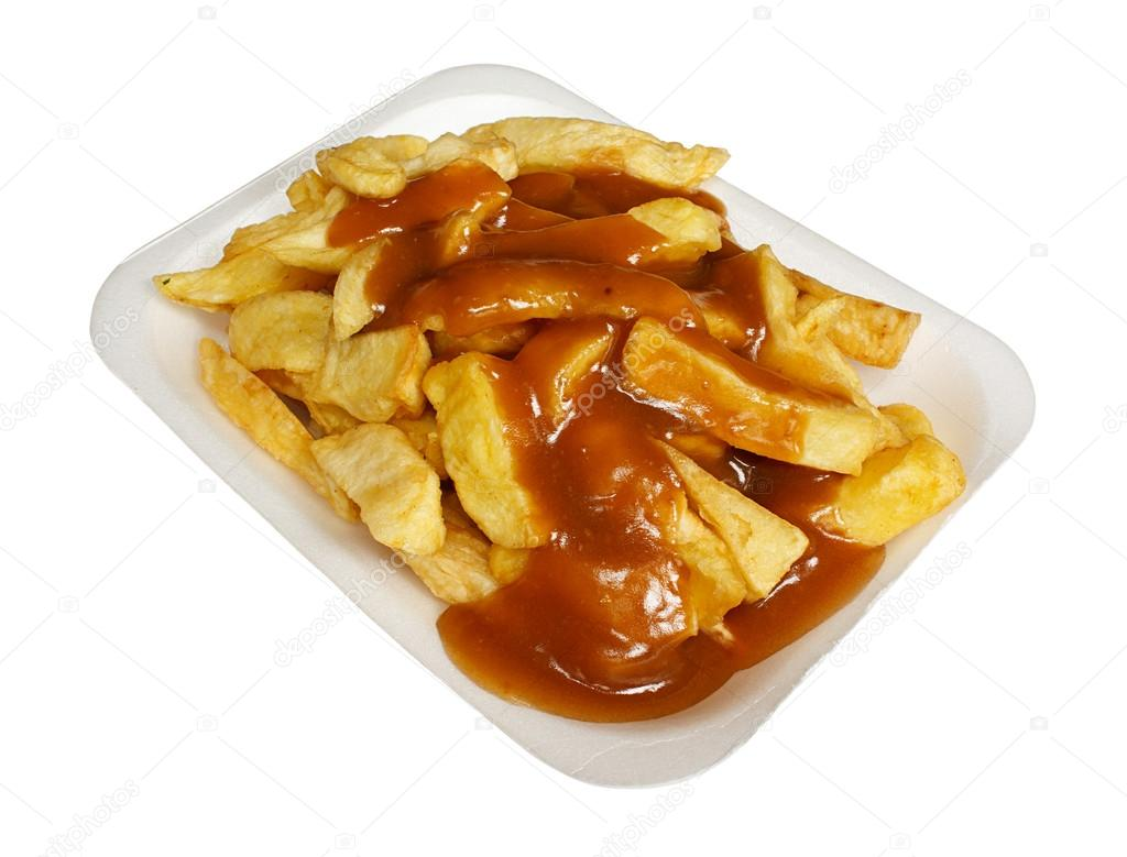 chips and gravy