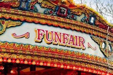 fun fair sign
