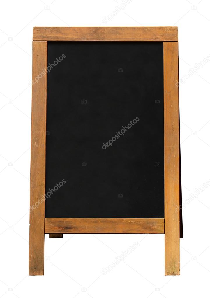 hölzerne Tafel-Sandwich-board — Stockfoto © Stocksolutions #45124923
