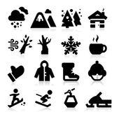 Fotografie Winter-Symbole