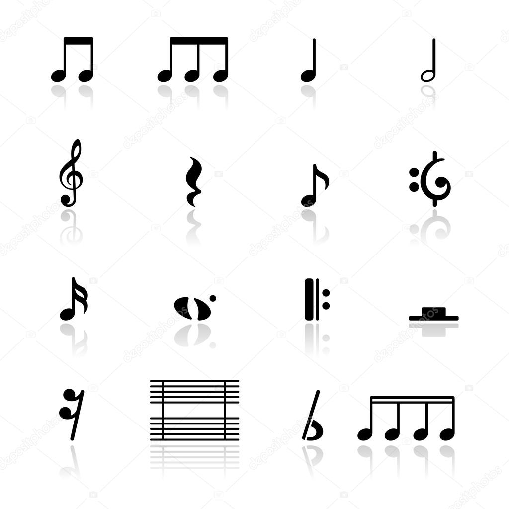 Icons set music notes stock vector tantoon 22895146 icons set music notes stock vector buycottarizona