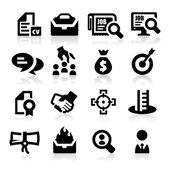zaměstnanost ikony