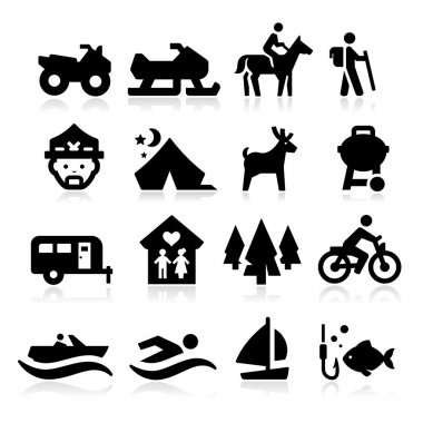 Recreation Icons