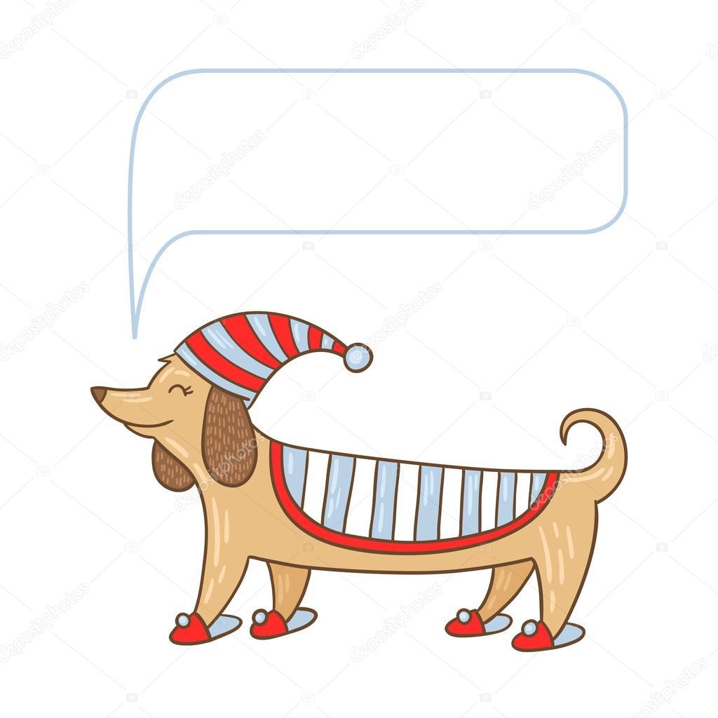 Dachshund cute dog