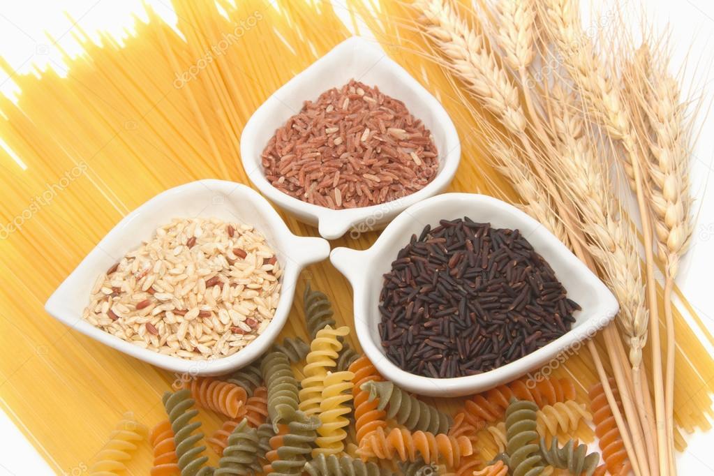 hidratos de carbono arroz o pasta