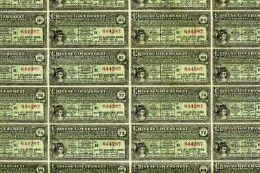 The Chinese Government Bond Loan 1913