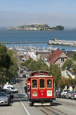 Cable Car at San Francisco, California