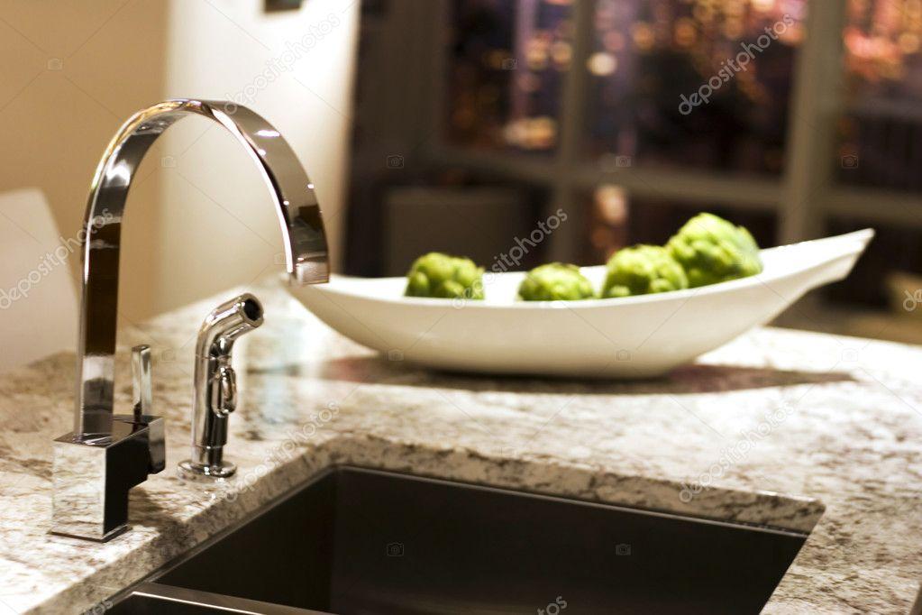 Ultra Moderne Keukens : Ultra moderne keuken u2014 stockfoto © c hughes #23769757