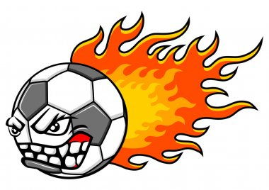 Flaming ball
