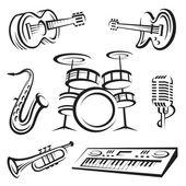 Fotografie Musical instruments