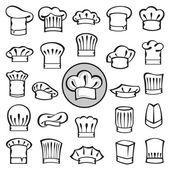 Fotografia set di Cappelli cuoco